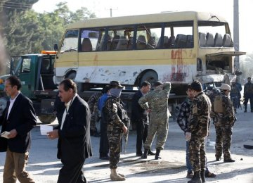 Separate Bomb Attacks  Kill 22 in Afghanistan