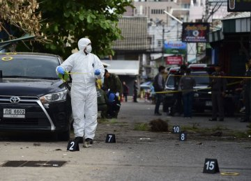 Thai Police Hunt Tourist Town Bombers