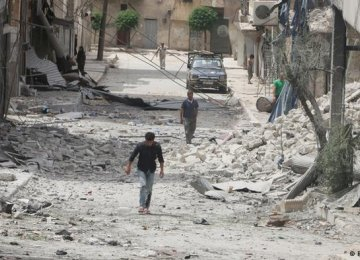 "Aleppo Truce Extended Amid ""Regime of Calm"""