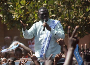 Uganda Opposition Leader Charged With Treason