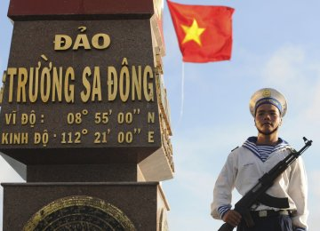 Vietnam Moves Rocket Launchers  Into South China Sea
