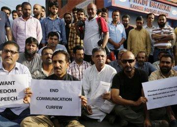 India Shuts Down Kashmir Newspapers