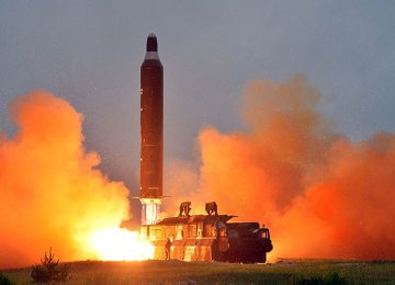 N. Korea's Missile Launch a Test for Nuclear Strike