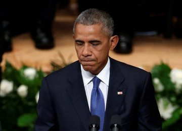 Obama Calls for Unity Among Americans