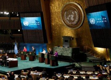 UN Chief Candidates Hold Debate