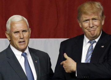 Trump Selects Mike Pence as VP