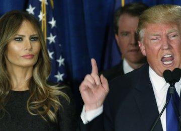 Trump's Wife Accused of Plagiarism