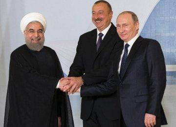 Three Presidents Discuss Key Transport Corridor