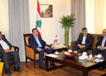 Lebanese Minister Mulls Iran Visit