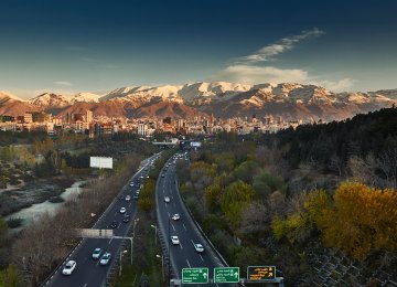 Tehran Tops List of Most Improved Livable Cities