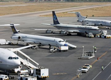 Mehrabad to Discard 40 Grounded Planes