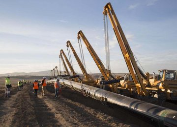 Plan to Establish New Gas Pipeline for Export
