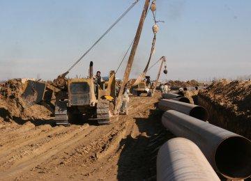 Iran's Gas Will Flow  to Iraq Next Month