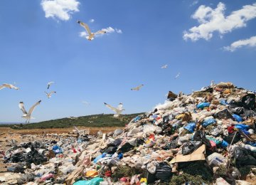 Potential for Power Output From Tehran Landfills