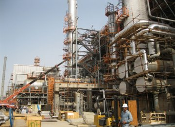 South Pars Phase 19 Output at 18 mcm