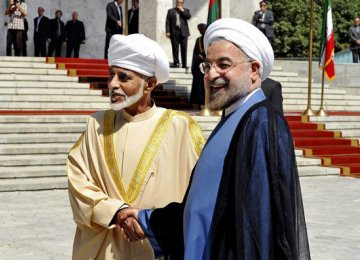 Iran and Oman: Burgeoning Allies