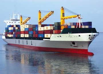 Iranian Container Ship Docks in South Korea