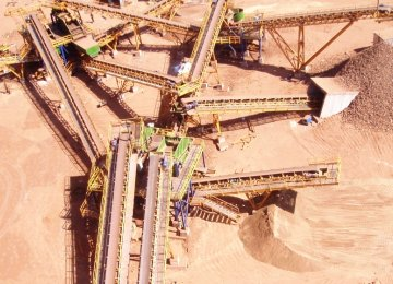 Surge in Granulated Iron Output