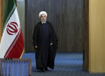 Rouhani inherited a country in turmoil from his conservative forerunners.