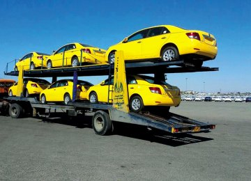 1st Ario Taxis for Isfahan