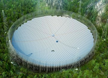 China to Set Up World's Largest Radio Telescope