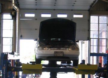 Car Inspection Facility Under Construction