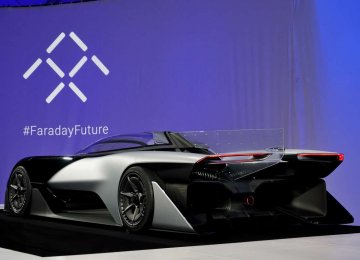 Faraday Approved  to Test  Self-Driving Cars