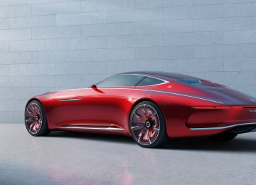 Named for its 6-meter length, the Mercedes-Maybach 6 is totally electric.