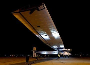 Solar Plane's Flight Postponed