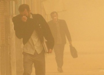 Dust Storms  in Sistan