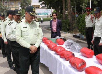 13 Tons of Drugs Seized in 1 Month