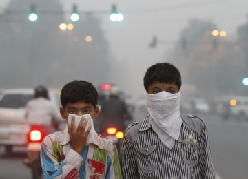 Air Pollution Affects Young People's Psychiatric Health