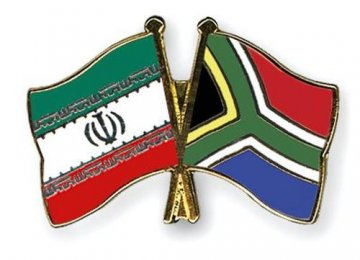 Academic Coop. With South Africa
