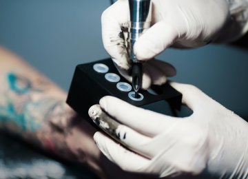 Tattoo Ink May Be Toxic, Study Warns