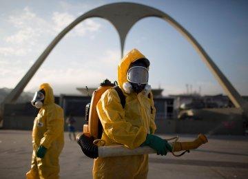 Caution on Rio Olympics