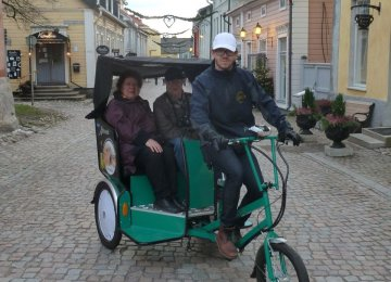 Emission-Free Bike Taxis in Finland