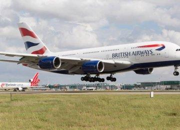 BA Postpones Tehran Flights
