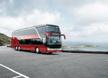 Tehran will add six double-decker buses to its fleet of coaches by March 2017.