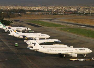 Aging Planes Pile On  Tehran Pollution Problem