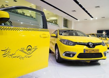 3,000 Old Taxis Replaced in Tehran