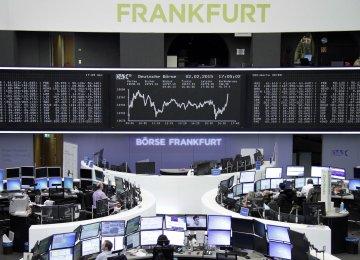 European  Stocks Higher