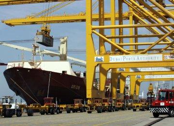 Dubai Shipping Volumes Waning