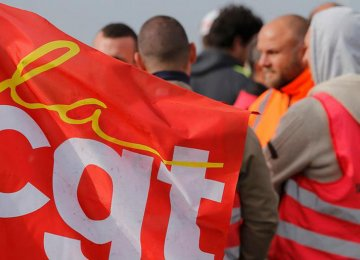 France Workers' Protests Continue
