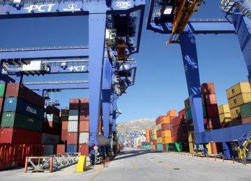 Greek Exports Decline