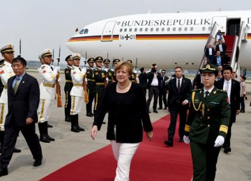 Merkel: EU Doesn't Want Trade War With China