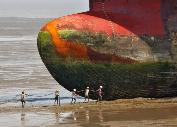 Thousands of Ships Being Scrapped