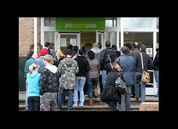 UK Jobless Rate Steady