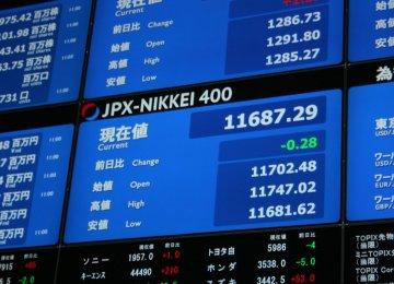 World Stocks Lower