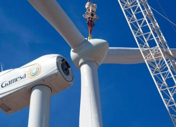 Merger Forms World's Biggest Wind-Turbine Maker