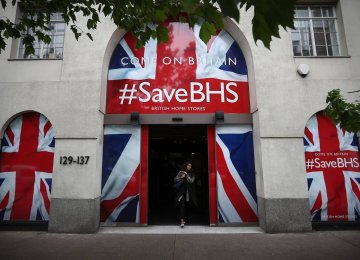 The demise of BHS, the high-street shop, has put 164 shops and almost 11,000 jobs at risk.